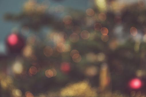 Bokeh image of Christmas tree - gettyimageskorea