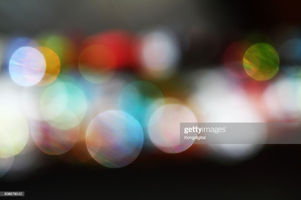 Bokeh light : Stockfoto