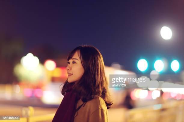 bokeh lights at night