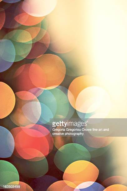 bokeh lights - gregoria gregoriou crowe fine art and creative photography stock photos and pictures