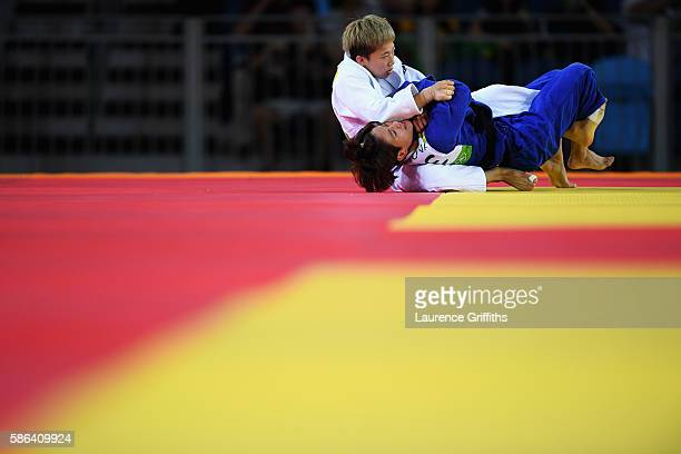 Bokyeong Jeong of Korea competes against Van Ngoc Tu of Vietman in the Women's 48 kg Judo on Day 1 of the Rio 2016 Olympic Games at Carioca Arena 2...