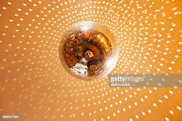 bola de discoteca 02 - disco ball stock photos and pictures