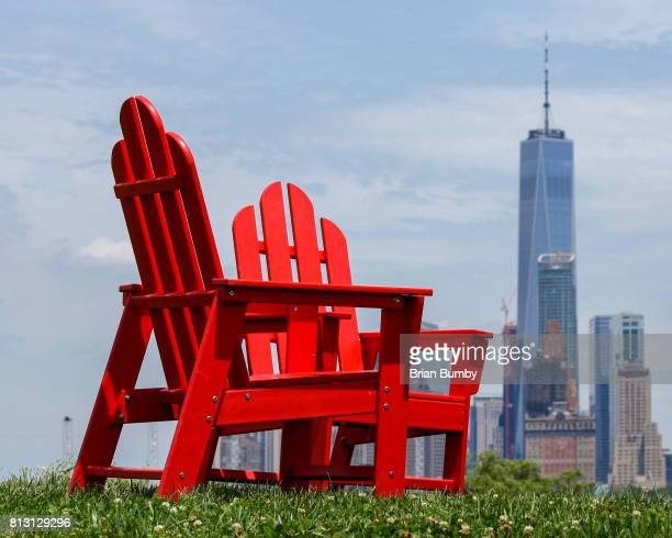 bold colours - governors island stock pictures, royalty-free photos & images
