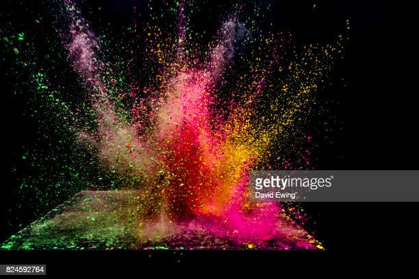 bold colours - colour and abstract and impact not people stock photos and pictures