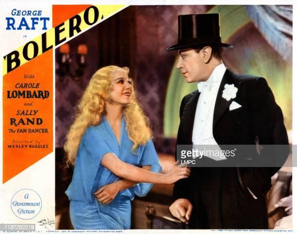 Bolero lobbycard from left Sally Rand George Raft 1934