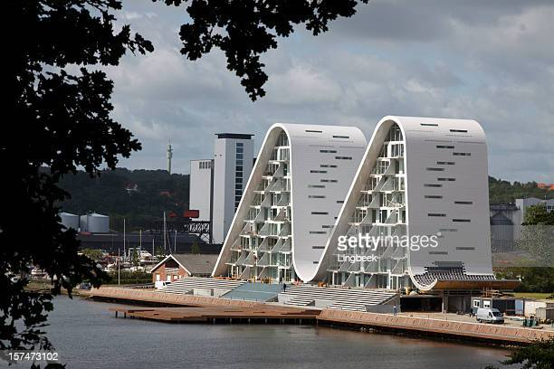 bolgen in vejle - denmark stock pictures, royalty-free photos & images
