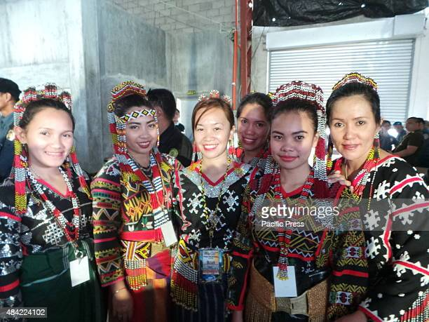 T'BOLI SOUTH COTABATO PHILIPPINES T'boli tribe showcases their folk song and dances to the T'boli people at T'boli Grandstand in South Cotabato...