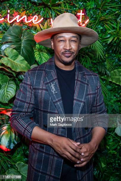 J Bolin attends the Nine West PopUp Experience on October 23 2019 in New York City