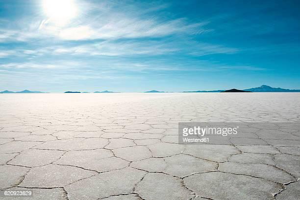 Bolivia, Atacama, Altiplano, Salar de Uyuni, Uyuni salt flats