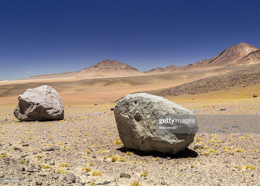 Bolivia, Atacama Desert, Salvador Dali Desert : Stock Photo
