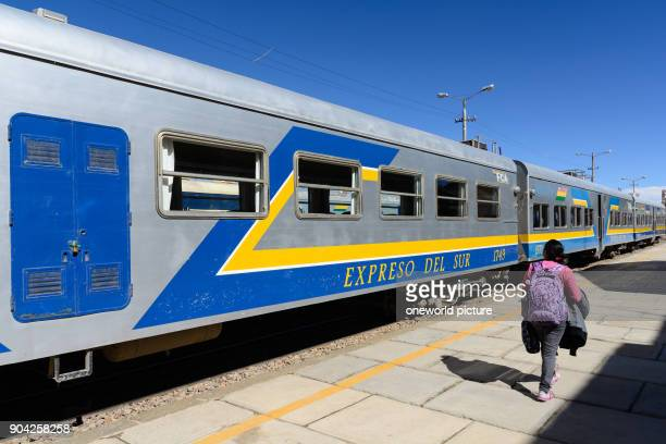 Bolivia Departamento de Oruro Oruro Oruro is the starting point for the train to the Salar de Uyuni