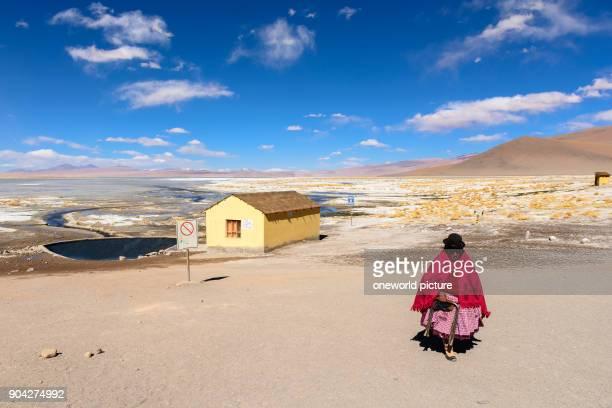 Bolivia Departamento de Potosí Sur Lípez thermal swimming pool