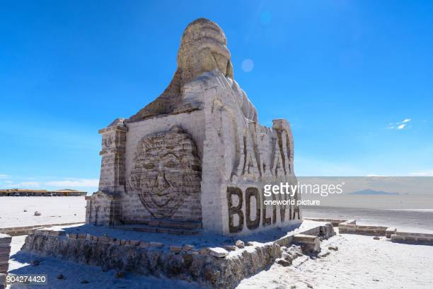 Bolivia Departamento de Potosí Uyuni Rallye Dakar Monument The rallye ParisDakar formerly carried out in Africa was relocated to South America a few...