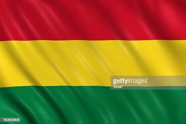 bandera de bolivia - bandera boliviana fotografías e imágenes de stock