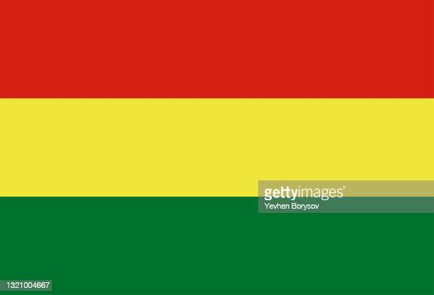 bolivia flag simple illustration for independence day or election - latin america stock pictures, royalty-free photos & images