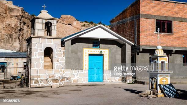bolivia small church - ジュンタ ストックフォトと画像