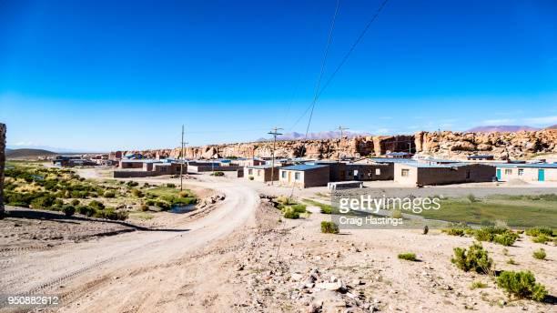 bolivia small village - ジュンタ ストックフォトと画像