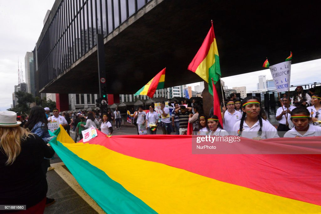 Brazil Political Protest : News Photo