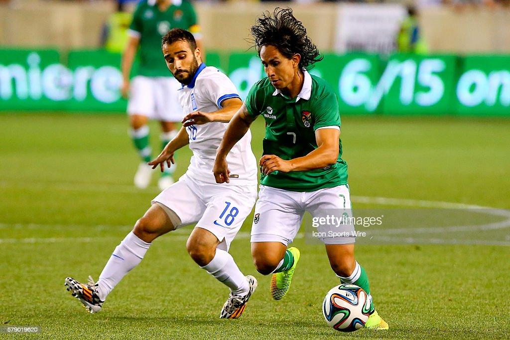 be87c6577 Bolivian National Soccer Team defender Marvin Bejarano during the ...