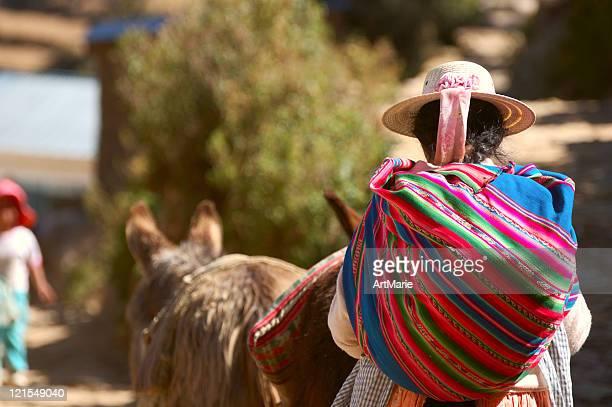 Femme de Bolivie