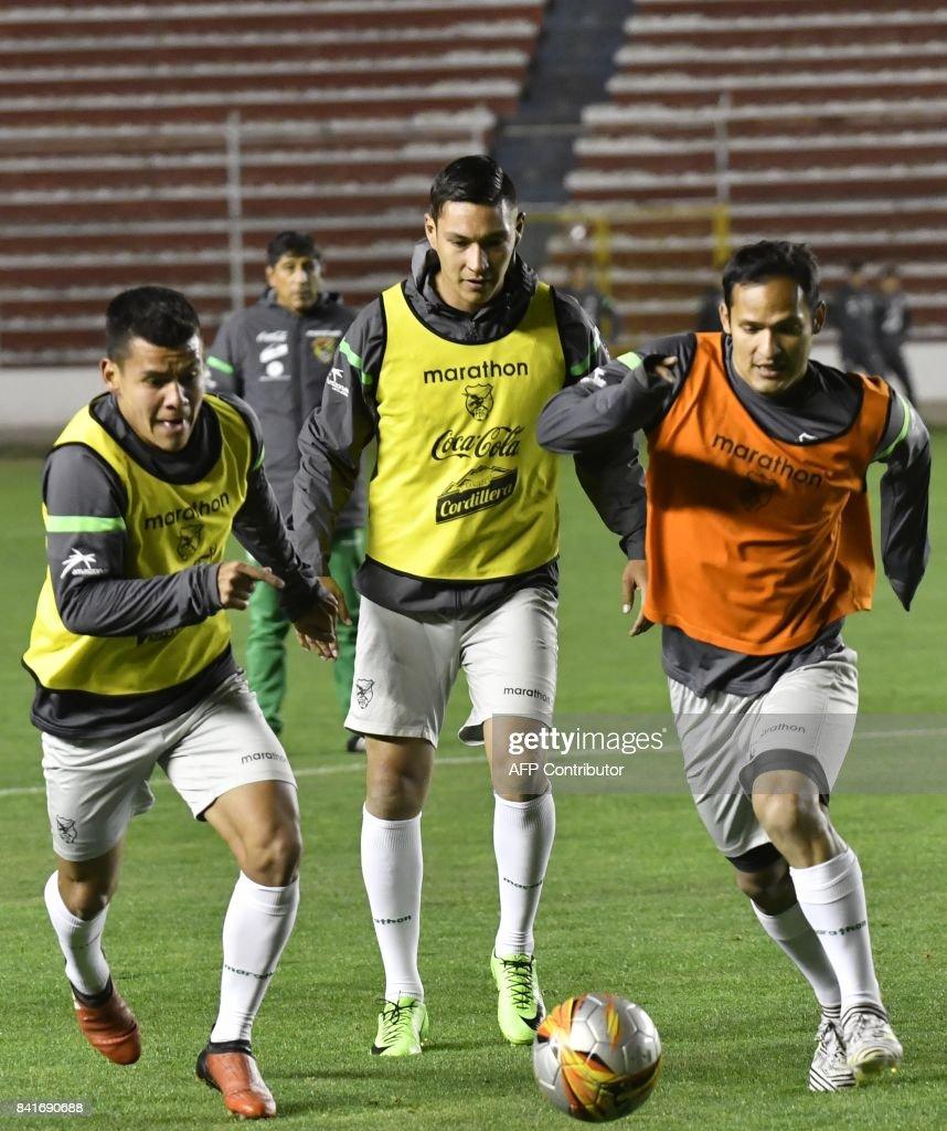 Must see Chile World Cup 2018 - bolivias-footballers-moises-villarruel-juan-eduardo-fierro-and-leonel-picture-id841690688  Photograph_551911 .com/photos/bolivias-footballers-moises-villarruel-juan-eduardo-fierro-and-leonel-picture-id841690688