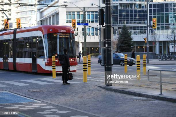 BOLLARDS Bollards were installed this weekend at York and Queens Quay The streetcar tracks are a nogo zone for autos A lift gate closer to the tunnel...