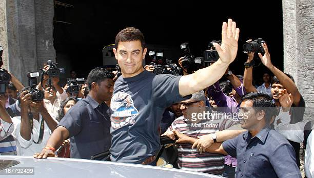 Bollywood actor Aamir Khan celebrates 25 years in Bollywood in Mumbai