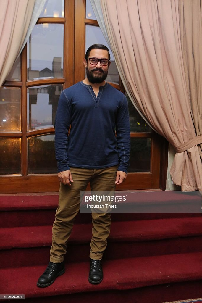 Press Conference Of Bollywood Actor Aamir Khan In Delhi