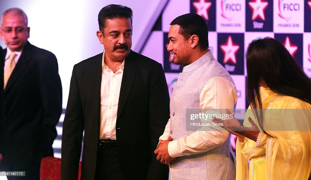 Aamir Khan Attends Inaugural Session Of FICCI Frames 2015