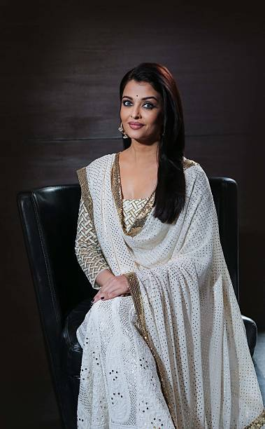 Bollywood actor Aishwarya Rai Bachchan during an interview with HT City Hindustan Times for the promotion of upcoming movie 'Sarbjit' at Hotel Le...