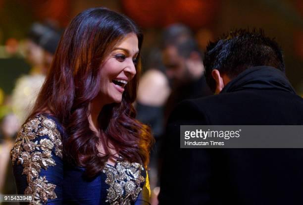 Bollywood actor Aishwarya Rai Bachchan during Hindustan Times India's Most Stylish Awards 2018 at Yash Raj Studios Andheri on January 24 2018 in...