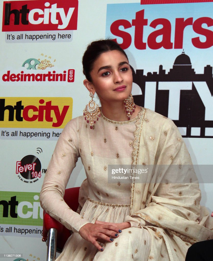 IND: HT Exclusive: Starcast Of Movie Kalank Visit HT Media Office For The Promotions
