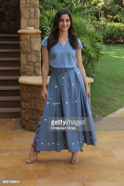 Bollywood actor Alia Bhatt during the International Indian Film Academy Awards Voting Weekend on April 16 2017 in Mumbai India