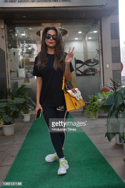 Bollywood actor Amrita Arora spotted on November 20 2018 in Mumbai India