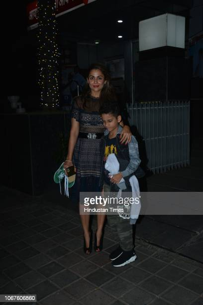 Bollywood actor Amrita Arora spotted on November 30 2018 in Mumbai India