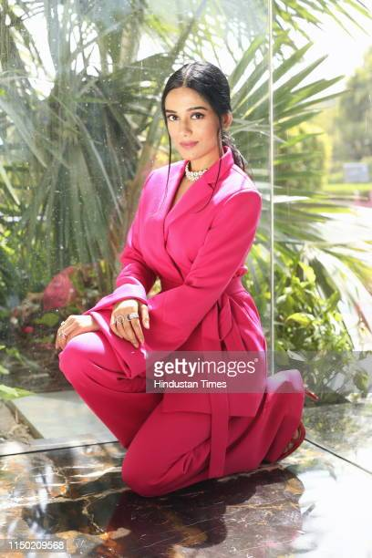 Bollywood actor Amrita Rao poses during an exclusive interview with HT CityHindustan Times on June 6 2019 in New Delhi India