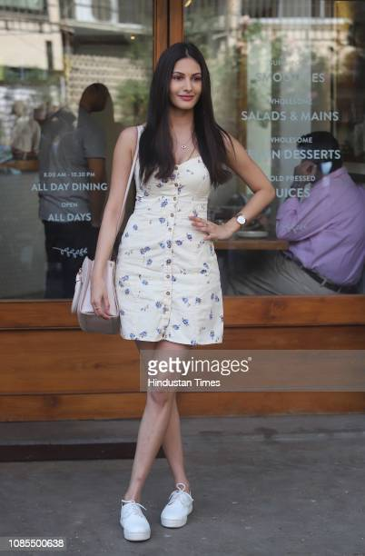 Bollywood actor Amyra Dastur spotted on January 11 2019 in Mumbai India