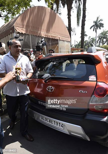 Bollywood actor and BJP Member of Parliament Paresh Rawal violates the oddeven rule by reaching Parliament in his evennumbered car to attend the...
