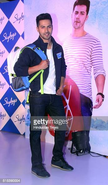 Bollywood actor and brand ambassador of Skybags Varun ...