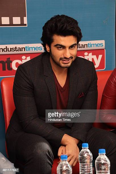 Bollywood actor Arjun Kapoor during an exclusive interview for his upcoming movie Tevar at HT Media Office on January 05 New Delhi India