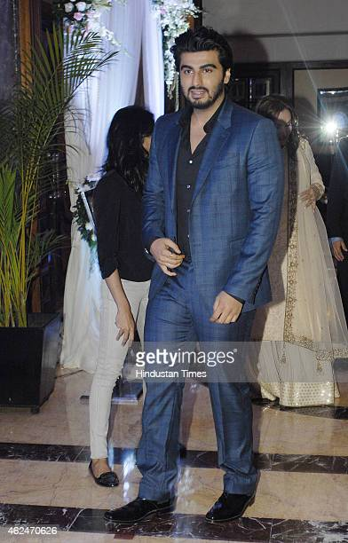 Bollywood actor Arjun Kapoor during launch of Aesthetic physician Jamuna Pai's debut book on skincare 'No One Has To Know' at Taj Landsend Bandra on...