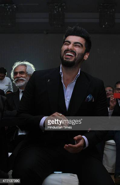 Bollywood actor Arjun Kapoor during the Hindustan Times Delhis Most Stylish 2015 award function on May 2 2015 in New Delhi India