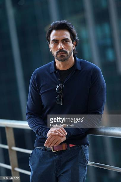Bollywood actor Arjun Rampal during an exclusive interview with HT CafeHindustan Times for the promotions of movie Kahaani 2 on November 21 2016 in...