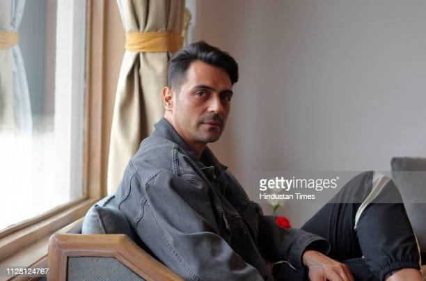 Bollywood actor Arjun Rampal during an interview on February 19 2019 in New Delhi India