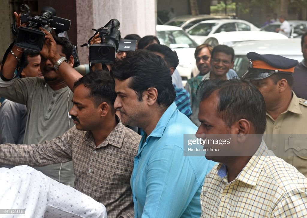 Bollywood actor Armaan Kohli, accused of allegedly assaulting his girlfriend Neeru Randhawa, produced in Bandra Court, on June 13, 2018 in Mumbai, India. The actor was arrested by Mumbai Police on Monday. The Bandra metropolitan magistrate court on Wednesday remanded actor Armaan Kohli, 45, arrested for allegedly assaulting his live-in partner Neeru Randhawa, in judicial custody till June 26. The court also quashed the actor's bail plea.