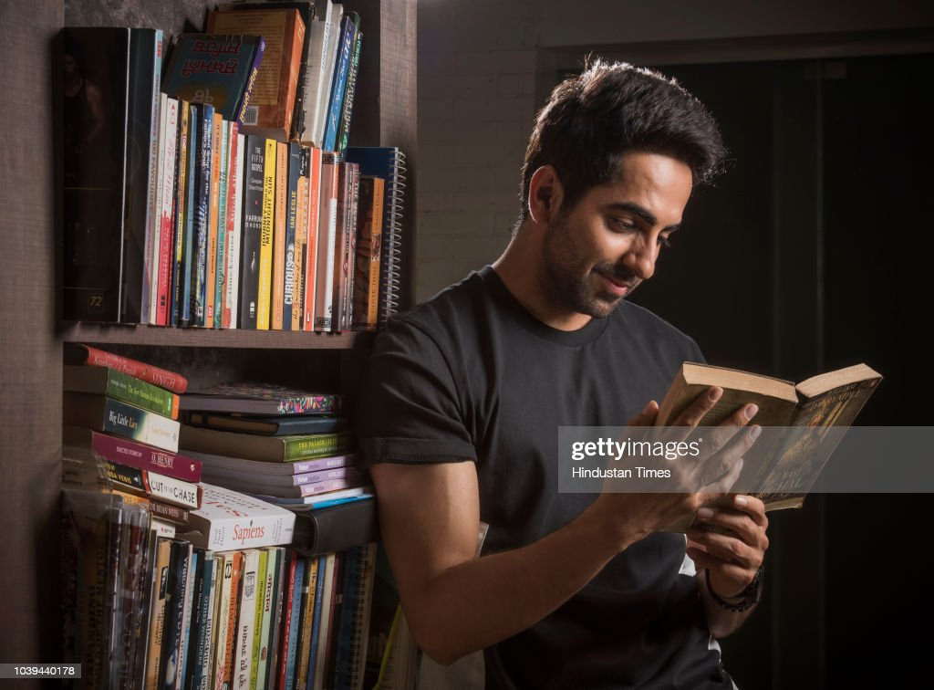 Bollywood actor Ayushmann Khurrana poses during an exclusive ...