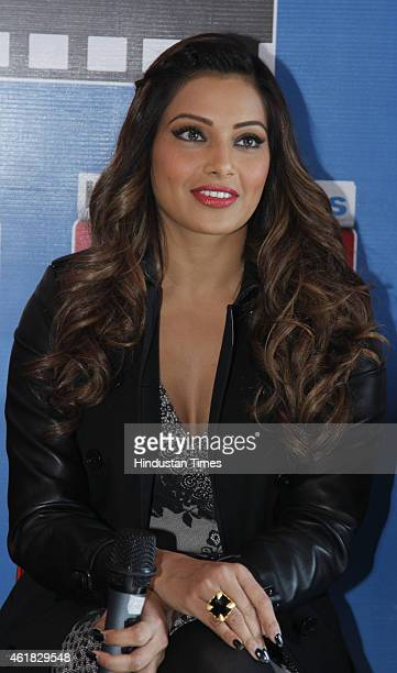 Bollywood actor Bipasha Basu during an exclusive interview with HT City, Hindustan Times, to promote her upcoming movie Alone at HT Media Office on...