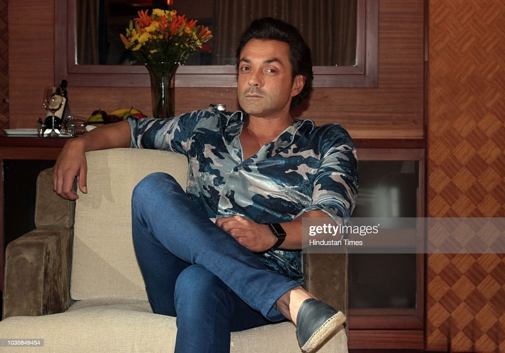 HT Exclusive: Profile Shoot Of Bollywood Actor Bobby Deol