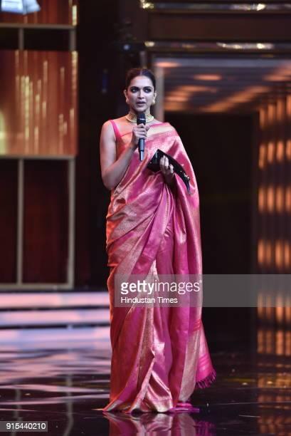 Bollywood actor Deepika Padukone during Hindustan Times India's Most Stylish Awards 2018 at Yash Raj Studios Andheri on January 24 2018 in Mumbai...