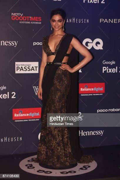 Bollywood actor Deepika Padukone spotted at Van Heusen and GQ Fashion Nights 2017 on November 12 2017 in Mumbai India